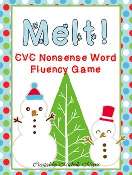 Melt! CVC Nonsense Word Fluency Game