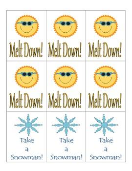 Melt Down Letter/Sound Recognition Game