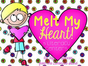 Melt My Heart! {5 Valentine Literacy Centers}