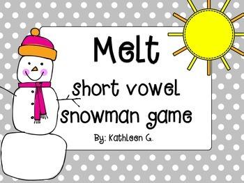 Melt - Short Vowel Game