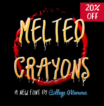 Melted Crayons Font