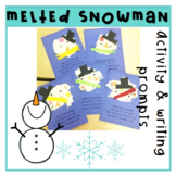 Melted Snowman Activity