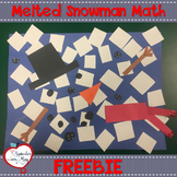 Melted Snowman Adding and Subtracting Craftivity
