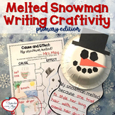 Melted Snowman Cause and Effect Writing Craftivity, bulletin board kit
