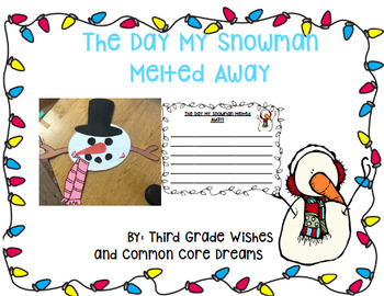 Melted Snowman Craftivity