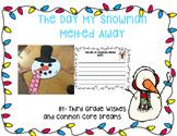 Melted Snowman Craftivity