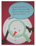 Melted Snowman Printable Template and Poem
