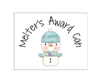 Melter Snowman Behavior Award Set