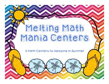 Melting Math Mania Centers