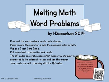 Melting Math Word Problems