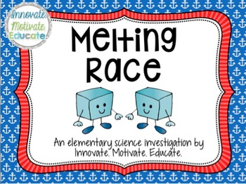 Melting Race: An Editable Matter Experiment for Elementary Scientists