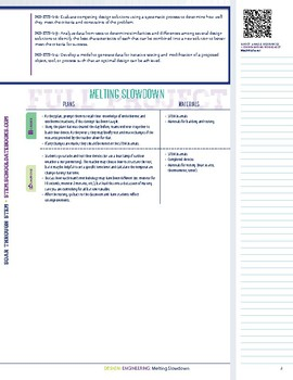 Melting Slowdown - STEM Lesson Plan with Journal Page
