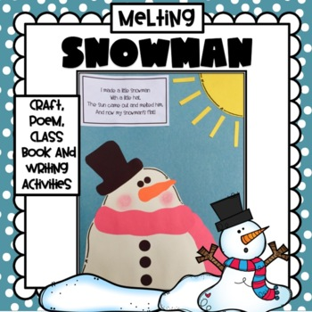Melting Snowman Craft