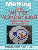 Snowman Craftivity, Glyph and Printables