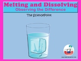 Melting and Dissolving: Observing the Difference