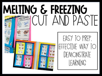 Melting and Freezing Cut and Paste (ACSSU046)