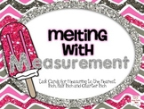 Melting with Measurement: Measuring to the inch, 1/2 inch and 1/4 inch
