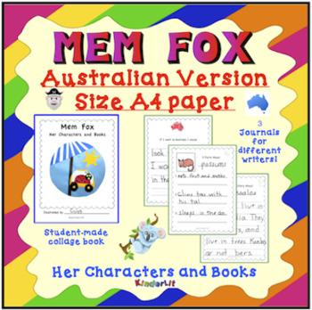 Mem Fox Her Characters and Books AUSTRALIAN VERSION