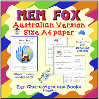 Mem Fox Her Characters and Books AUSTRALIAN VERSION