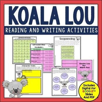 Mem Fox Author Study in Digital and PDF formats