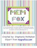 Mem Fox author study with matching PowerPoint and Mimio notebook file