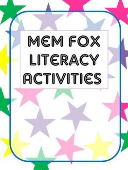 Mem Fox text activities