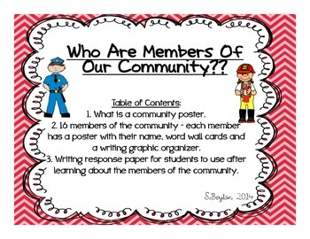 Members of Our Community