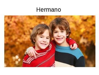 Members of the family / Mi familia / Family tree