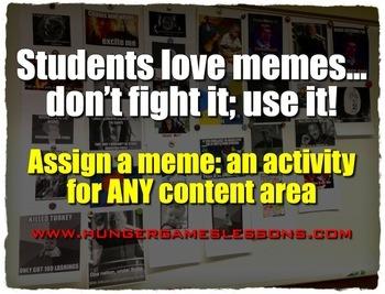 Meme Activity BUNDLE! Presentations, Activities, Editable