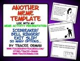 """Meme Activity """"Some ECard"""" for Icebreaker, Bell Ringer, Exit Slip"""