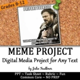 Meme Project for Modern, Text-Based Fun with Literature, Media, Any Text