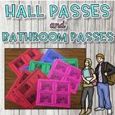 Meme Themed Bathroom and Hall Passes