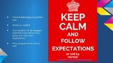 Memes of Classroom Expectations (PPT)