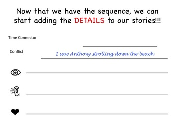 Memoir - A Common Core Aligned Digital Writing Unit - Adding Details