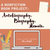 Memoir/Autobiography/Biography Project