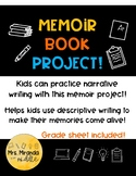 Memoir Book Project! (with rubric)