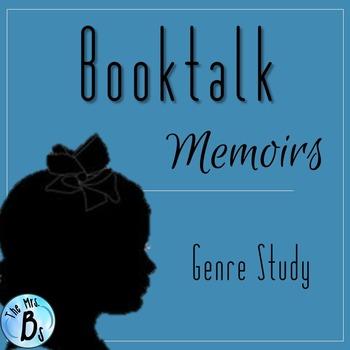Memoir Booktalk - Independent Novel and Genre Study {CCSS