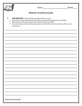 Memoir Drafting Guide