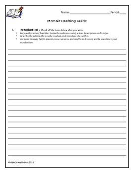 Memoir Drafting Guide