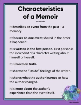 Writing A Memoir SCAFFOLDED