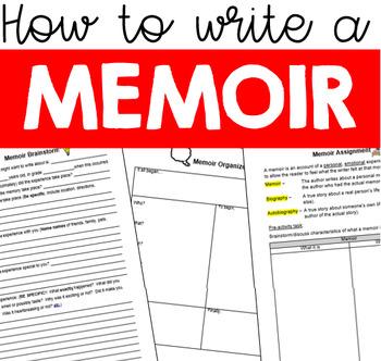 Memoir Writing Assignment - How to Write a Memoir