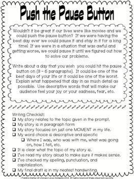 Memoir Writing Project- Sharing My Shorts