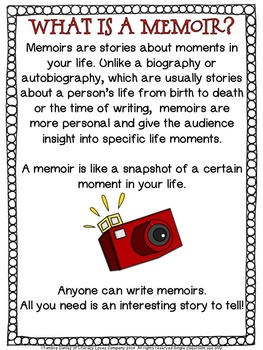 Memoir Writing Project- Sharing My Shorts - Distance Learning