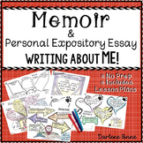 MEMOIR & PERSONAL EXPOSITORY ESSAY FOR MIDDLE SCHOOL ENGLISH