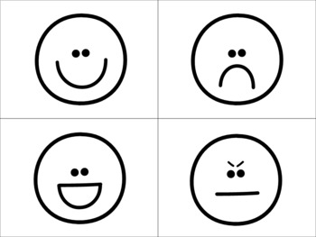 Mémoire / / / Jeu de vocabulaire LES ÉMOTIONS (French emotions vocabulary game)