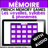 Mémoire - les voyelles, syllabes & phonèmes - French Memor