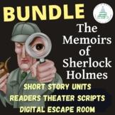 Memoirs of Sherlock Holmes BUNDLE | Digital Escape Room | Readers Theater
