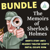 Memoirs of Sherlock Holmes Readers Theater Script and Ques
