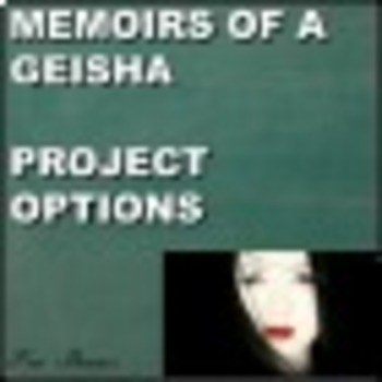 Memoirs of a Geisha Project Options