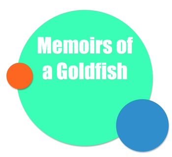 Memoirs of a Goldfish Activity Menu